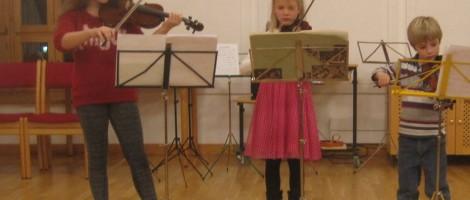 Kammermusik Workshop für Streicher