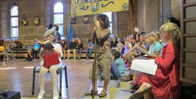 Kindermusical  beim Ferienspaß