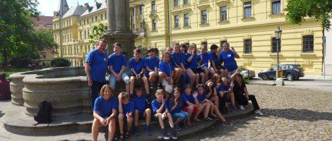 Schüleraustausch der Grundschule der Deutsch-Tschechischen Verständigung in Prag und dem Europahaus der Musik Heilsbronn